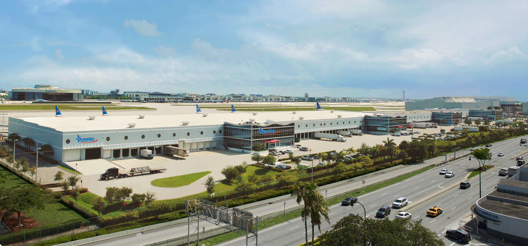 State-of-the-art Cargo Processing at New Amerijet Miami Facility