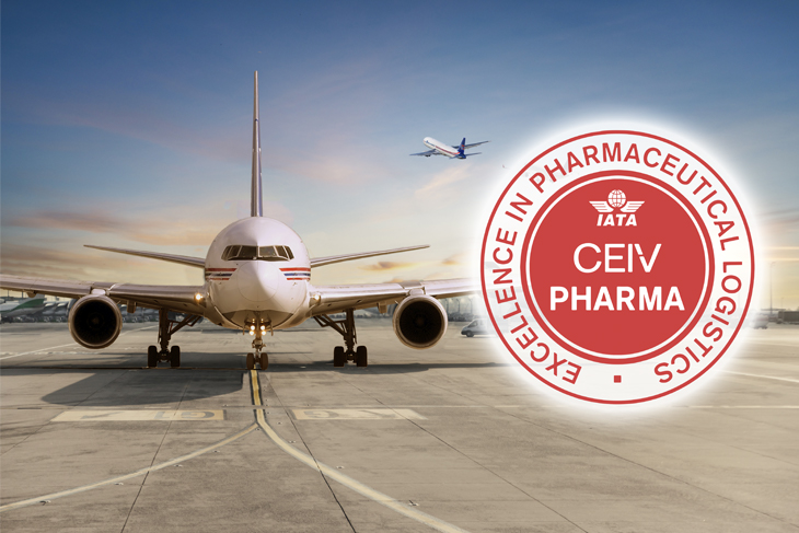 Amerijet is CEIV Certified Air Carrier for Pharmaceuticals and Biologics