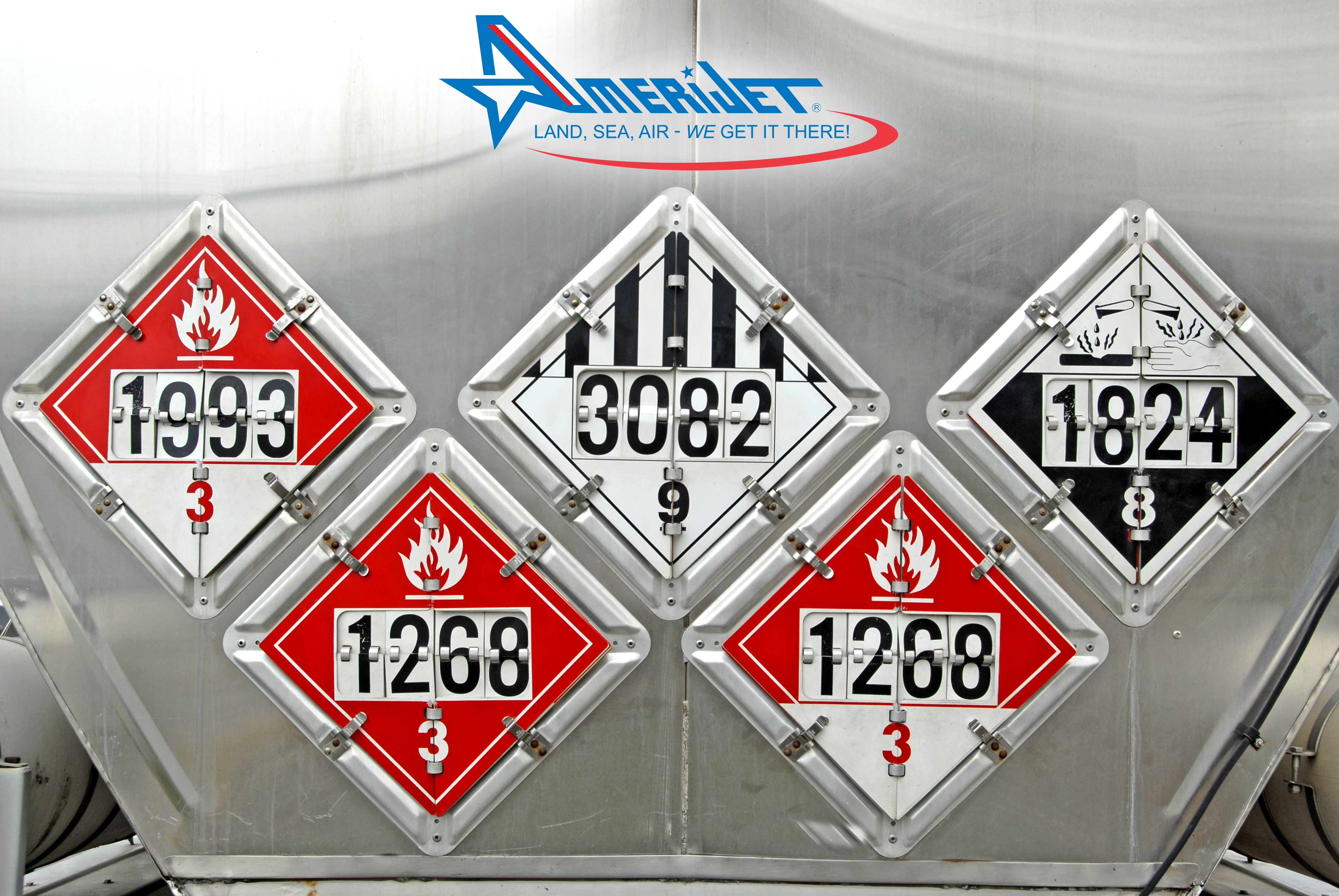 Maintaining safety at all times, even with dangerous goods