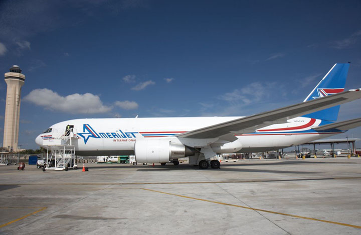 Amerijet Station in Washington DC Specializes in Charters Freight Forwarding