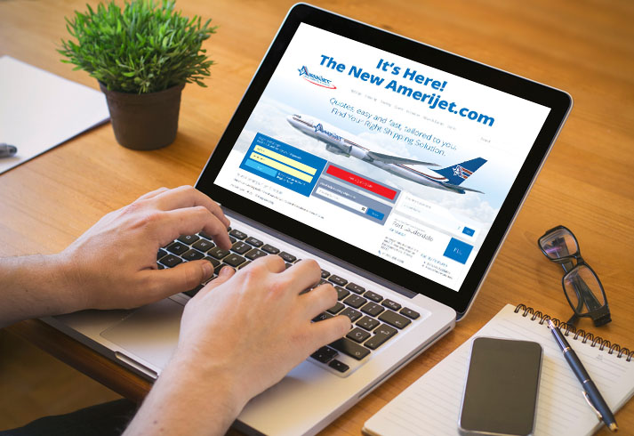 Amerijet launches newly designed website