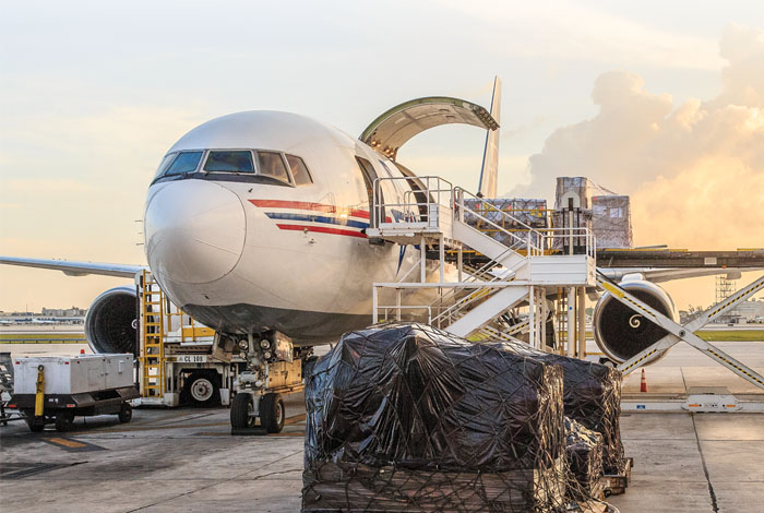 Charters and Scheduled Flights Keep the Supply Chain Operating